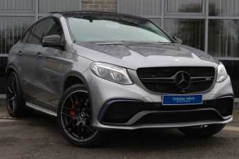 Mercedes-Benz GLE Coupe 5.5 GLE 63 S AMG 4Matic Premium 7G-Tronic Coupe Petrol Silver at Yorkshire Vehicle Solutions York