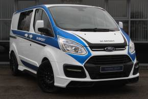 Ford Transit Custom 2.2 TDCi 155ps Low Roof D/Cab Limited Van Panel Van Diesel White at Yorkshire Vehicle Solutions York