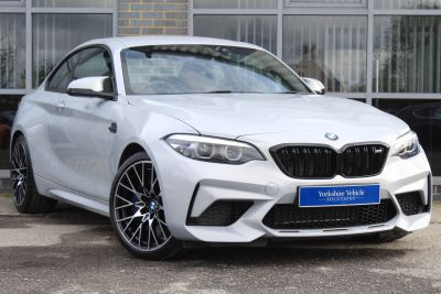 BMW M2 3.0 M2 Competition DCT Coupe Petrol Grey/silver at Yorkshire Vehicle Solutions York