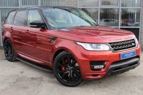 Land Rover Range Rover Sport 3.0 SDV6 Autobiography Dynamic 5dr Auto Estate Diesel Red at Yorkshire Vehicle Solutions York