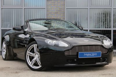 Aston Martin Vantage 4.7 2dr Sportshift [420] Convertible Petrol Black at Yorkshire Vehicle Solutions York
