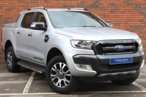 Ford Ranger Pick Up Double Cab Wildtrak 3.2 TDCi 200 Auto Pick Up Diesel Silver at Yorkshire Vehicle Solutions York